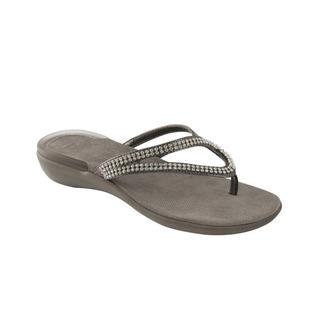 LULU cínová šeď zdravotné papuče
