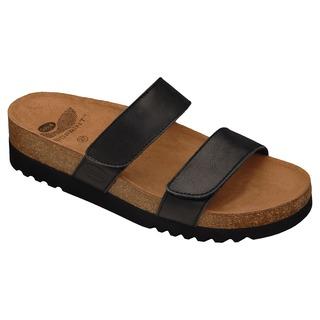 LUSAKA čierne zdravotné papuče