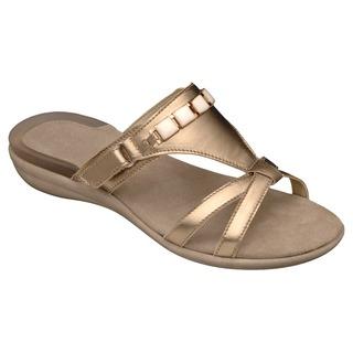 LYNN platinové / biele zdravotné papuče