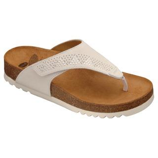 Masaba biele zdravotné papuče VÝPREDAJ