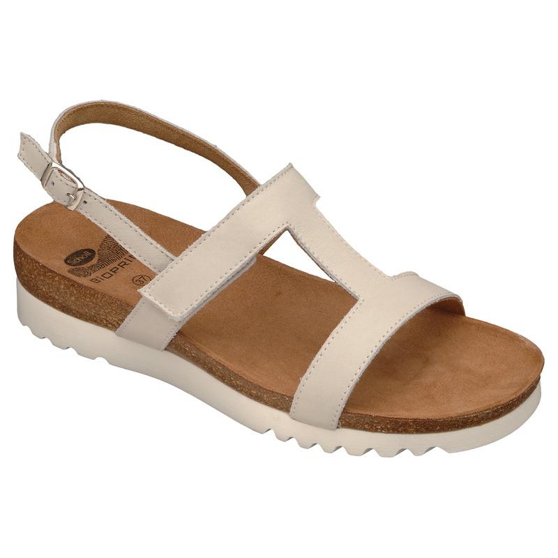 Scholl NEW LABA biele zdravotné papuče
