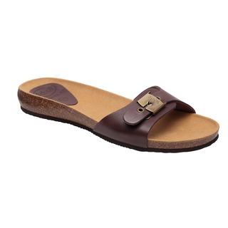 BAHAMA 2.0 - tmavo hnedé zdravotné papuče