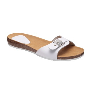 BAHAMA 2.0 - biele zdravotné papuče