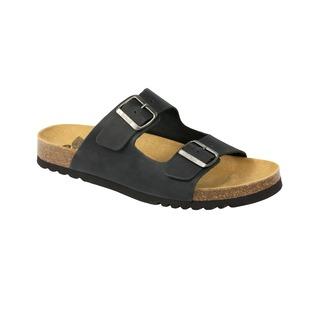GERRY - čierne zdravotné papuče