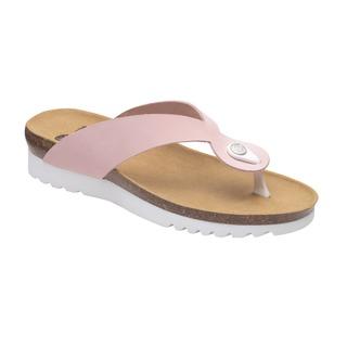 KENNA svetlo ružové zdravotné papuče