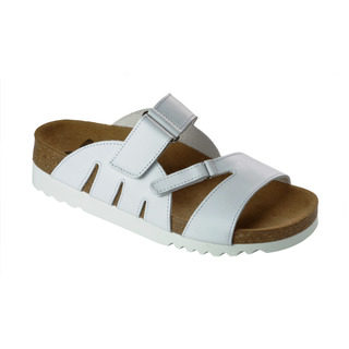 ALABAMA biele zdravotné papuče