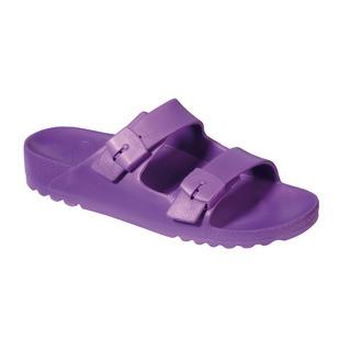 BAHIA - fialové zdravotné papuče
