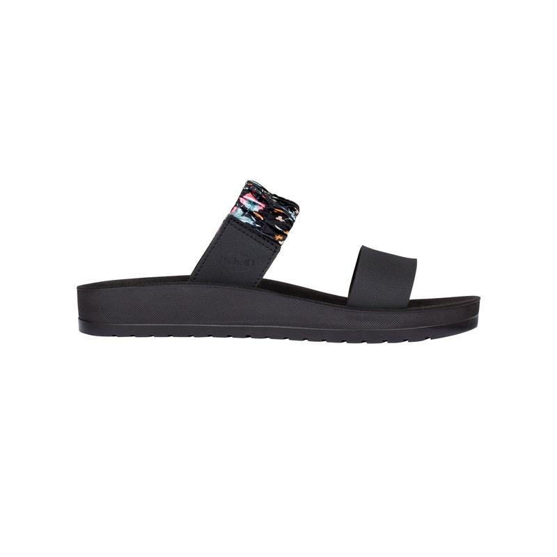 Scholl CYNTHIA čierne zdravotné papuče