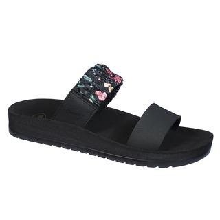CYNTHIA čierne zdravotné papuče