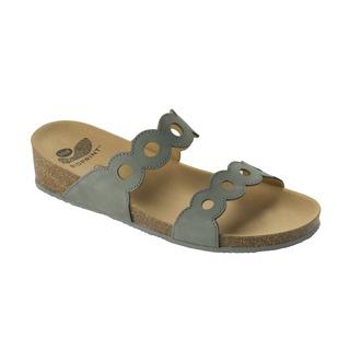 ODELIA tmavo šedé zdravotné papuče