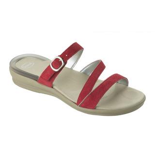 ELINOR červené zdravotné papuče