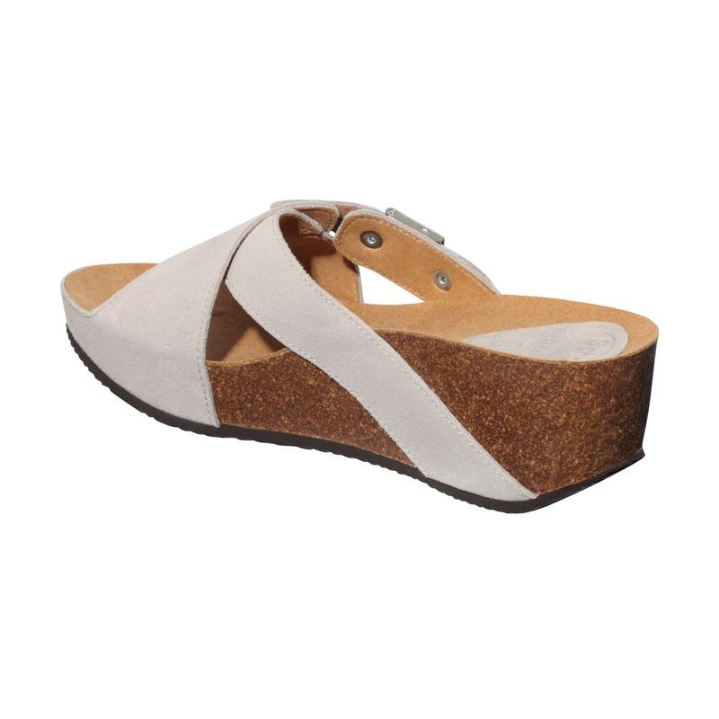 Scholl ELON 2.0 - svetlo šedej zdravotné papuče