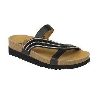 FELISA čierne zdravotné papuče