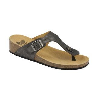 GANDIA cínová šeď zdravotné papuče (2018)