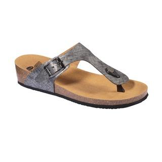 GANDIA strieborné zdravotné papuče