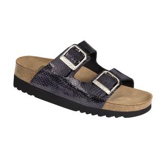 Mälaren čierne zdravotné papuče
