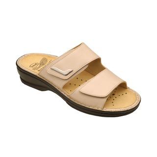NEW MIETTA béžovej zdravotné papuče