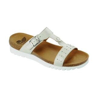 Nydia biele zdravotné papuče