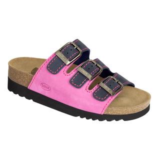 RIO tmavo modré / ružové zdravotné papuče