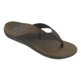 RYDER tmavo hnedé zdravotné papuče