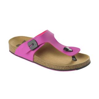 Spikee SS 5 - ružové / čierne zdravotné papuče