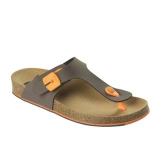 Spikee SS 5 - hnedé / oranžové zdravotné papuče