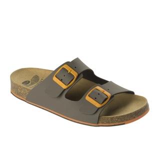 Spikee SS 6 - hnedé / oranžové zdravotné papuče