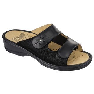 Vitalba čierne zdravotné papuče