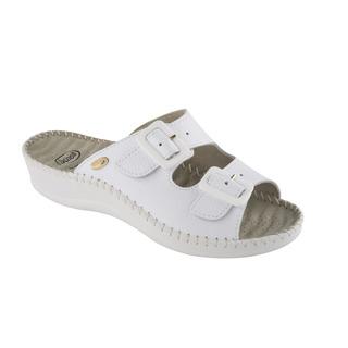 WEEKEND biele zdravotné papuče