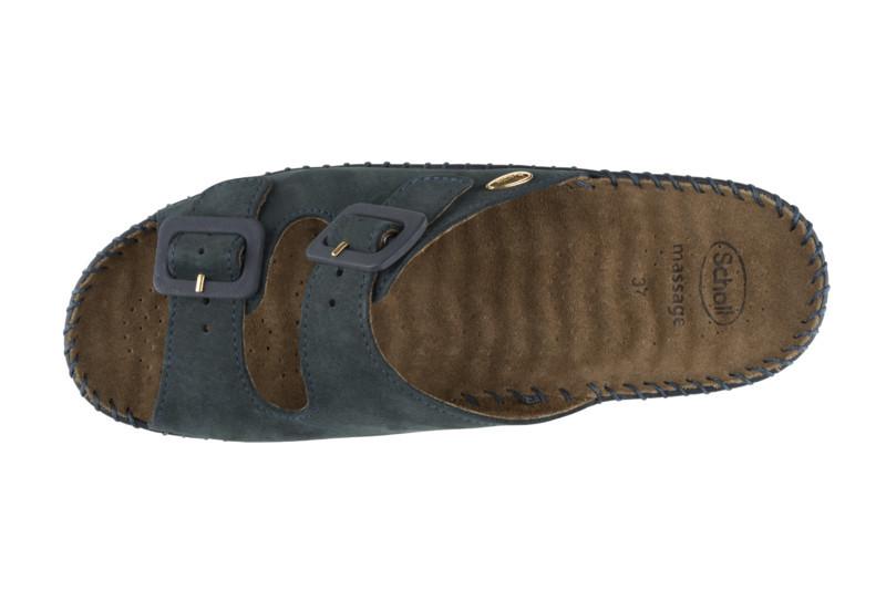 Scholl WEEKEND čierne zdravotné papuče
