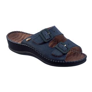 WEEKEND - tmavo modré zdravotné papuče
