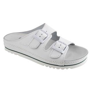 AIR BAG - biele zdravotné papuče