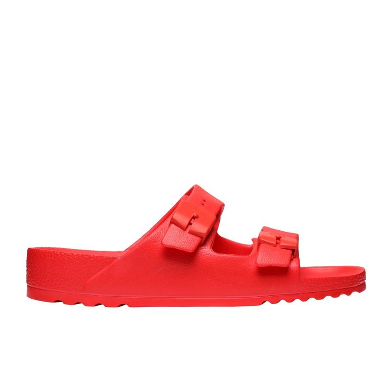 Scholl BAHIA - červené zdravotné papuče