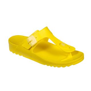 BAHIA FLIP-FLOP - žlté zdravotné papuče