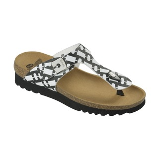 BOA VISTA UP čiernobiele zdravotné papuče