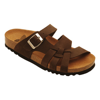 Carsoli tmavo hnedé zdravotné papuče