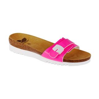 Ginny ružové zdravotné papuče
