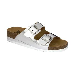 GLAM SS 2 strieborné zdravotné papuče
