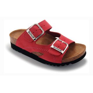 Moldava AD - červené zdravotné papuče