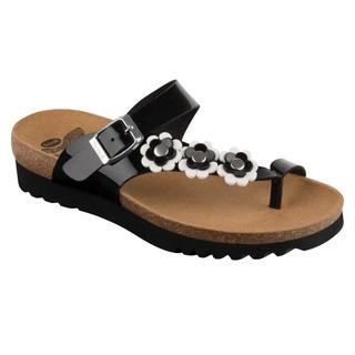 SIBEL PLUS čierne zdravotné papuče odpudzujúce komáre