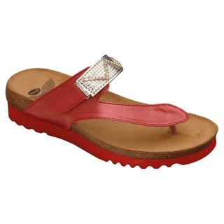 Yota červené zdravotné papuče VÝPREDAJ