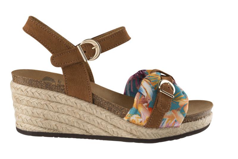 Scholl VALE svetlo hnedé zdravotné sandále