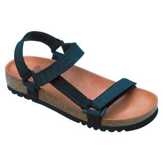HEAVEN - čierne zdravotné sandále