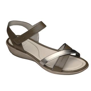 LORI - tmavo šedé zdravotné sandále
