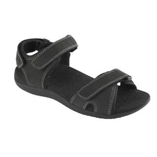 Barwon čierne zdravotné sandále