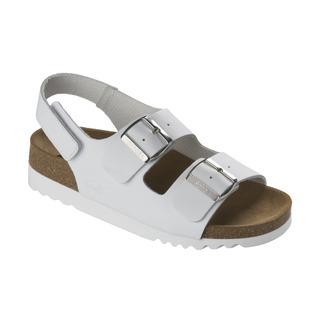 GIAVA biele zdravotné sandále