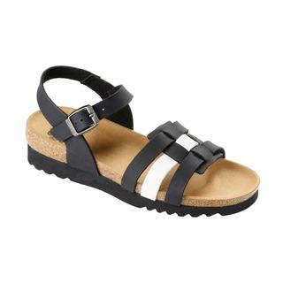 Mirko čierne zdravotné sandále