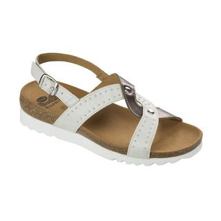 SELAH biele zdravotné sandále