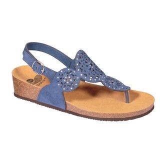 ABELIN modré zdravotné sandále