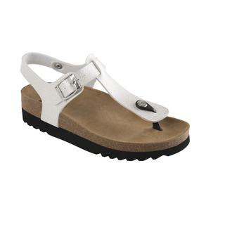 BOA VISTA AD perleťovo bielej zdravotné sandále